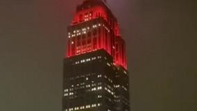 شیوه قدردانی از کادر پزشکی در نیویورک
