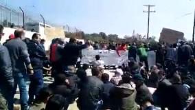 تجمع پناهجویان در اعتراض به شرایط ناامن کمپ موریا