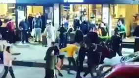 درگیری مردم ترکیه پس از اعلام قرنطینه