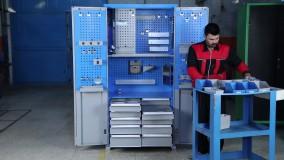 گروه صنعتی شاهرخ - محصولات - کمد محافظ ابزار