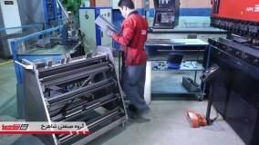گروه صنعتی شاهرخ - روند تولید - محافظ های قالب برک