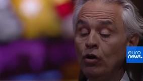 بخشهایی از اجرای «موسیقی برای امید» با صدای آندرها بوچلی