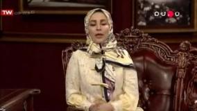 کنایه ژیلا صادقی به آزاده نامداری در برنامه دورهمی