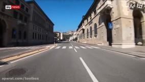 هشدار قرمز کرونا در ایتالیا