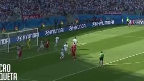 ایران ۰ - ۱ آرژانتین (۲۰۱۴)