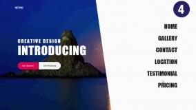 10 نمونه خیره کننده از کاربرد CSS3 در طراحی منو سایت