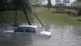 وضعیت کرمانشاە پس از بارندگی
