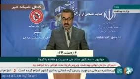آخرین آمار مبتلایان کرونا در ایران تا 6 اردیبهشت 99