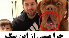سگ گنده لیونل مسی