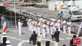 گرامیداشت روز ملی خلیج فارس از روی عرشه ناوشکن جماران