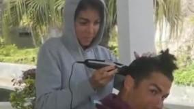 جورجینا، آرایشگر رونالدو شد