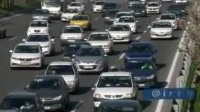 ترافیک نگران کننده بزرگراه شهید همت