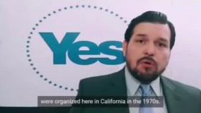 پیام رهبر جنبش استقلال کالیفرنیا به مردم ایران