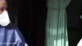تقدیر از جهادگران خط مقدم مبارزه با کرونا در بیمارستان شهدای لنجان
