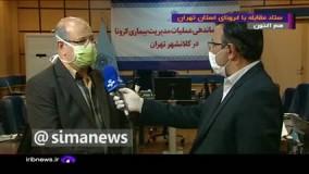 هشدار جدی زالی به مسئولان و مردم پایتخت