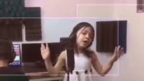 آوازخوانی دختر خردسال علیه کرونا