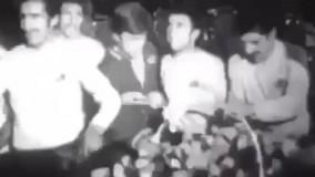 فیلمی تاریخی از جشن اولین قهرمانی استقلال در آسیا