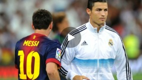 لیونل مسی در ۷ دقیقه تفاوتش را با کریستیانو رونالدو را نشان می دهد
