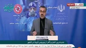 عبور مبتلایان کرونا در ایران از مرز ۱۲۰ هزار