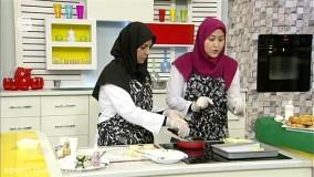 کلوچه خرمایی و شیرینی پسته عسلی - نجمه درویش ملا (کارشناس آشپزی)