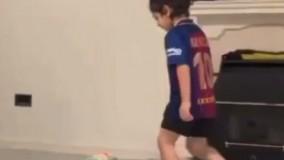 چالش بارسلونا با آرات حسینی