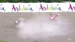 خطرناک ترین لحظات در مسابقات moto GP