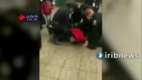 اقدام وحشیانه پلیس آمریکا
