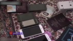لحظه دستگیری اعضای شبکه قاچاق و فروش دختران ایرانی