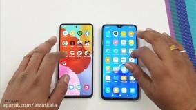 مقایسه سرعت عملکرد گوشی های شیاومی Redmi Note 8 و گلکسی A51