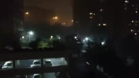 باران سیلآسا در تهران