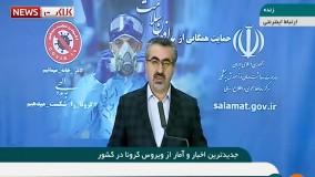 آخرین آمار مبتلایان به کرونا در ایران (99/02/13)
