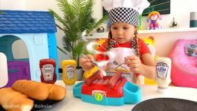 دیانا سرآشپز میشود ! | ماجراهای دیانا و روما