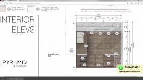 اموزش تخصصی طراحی کابینت اشپزخانه و دکوراسیون داخلی مدرن و کلاسیک