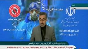 آخرین آمار کرونا در ایران : عبور مبتلایان به کرونا در ایران از مرز 126 هزار نفر