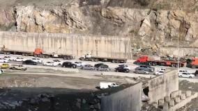 ترافیک در جادههای چالوس و هراز