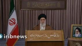 فاتحه خوانی رهبری برای سردار سلیمانی