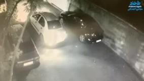 سرقت مزدا ۳ در تهران در کمتر از ۴۰ثانیه!