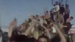 جشن و شادی مردم تهران بعد از آزادی خرمشهر