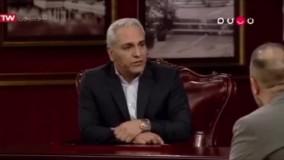 شوخی عجیب مهران مدیری با علی اوجی