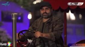 """تراکتور سواری """"علی مشهدی"""""""