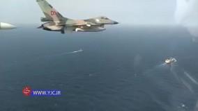 اسکورت نفتکش ایرانی توسط جنگنده های ونزوئلا