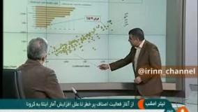 عطسه ترسناک معاون وزیر بهداشت روی آنتن زنده