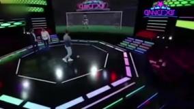 مهاجم پرسپولیس در برنامه تلویزیونی مصدوم شد