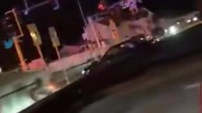 لحظه ورود گارد ویژه آمریکا به شهر مینیاپولیس