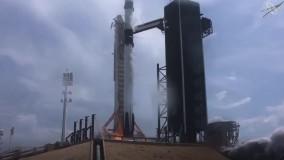 شرکت ایلان ماسک موفق شد انسان به فضا پرتاب کند