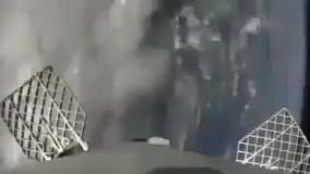 فیلم دوم از فرود فالکون 9 در وسط اقیانوس