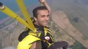 اولین پرواز وینگسوت (لباس خفاشی) من در ایران