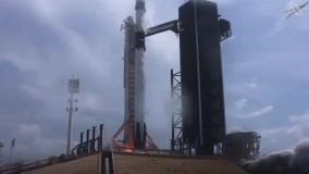 پرتاب اولین موشک فضاپیمای خصوصی به فضا