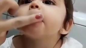 مسواک برای کودکان