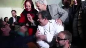 فیلم زیرخاکی از همخوانی مهناز افشار